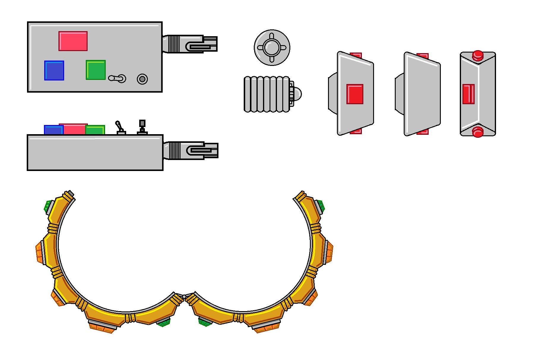 Logopolis Remote & Braselet.jpg