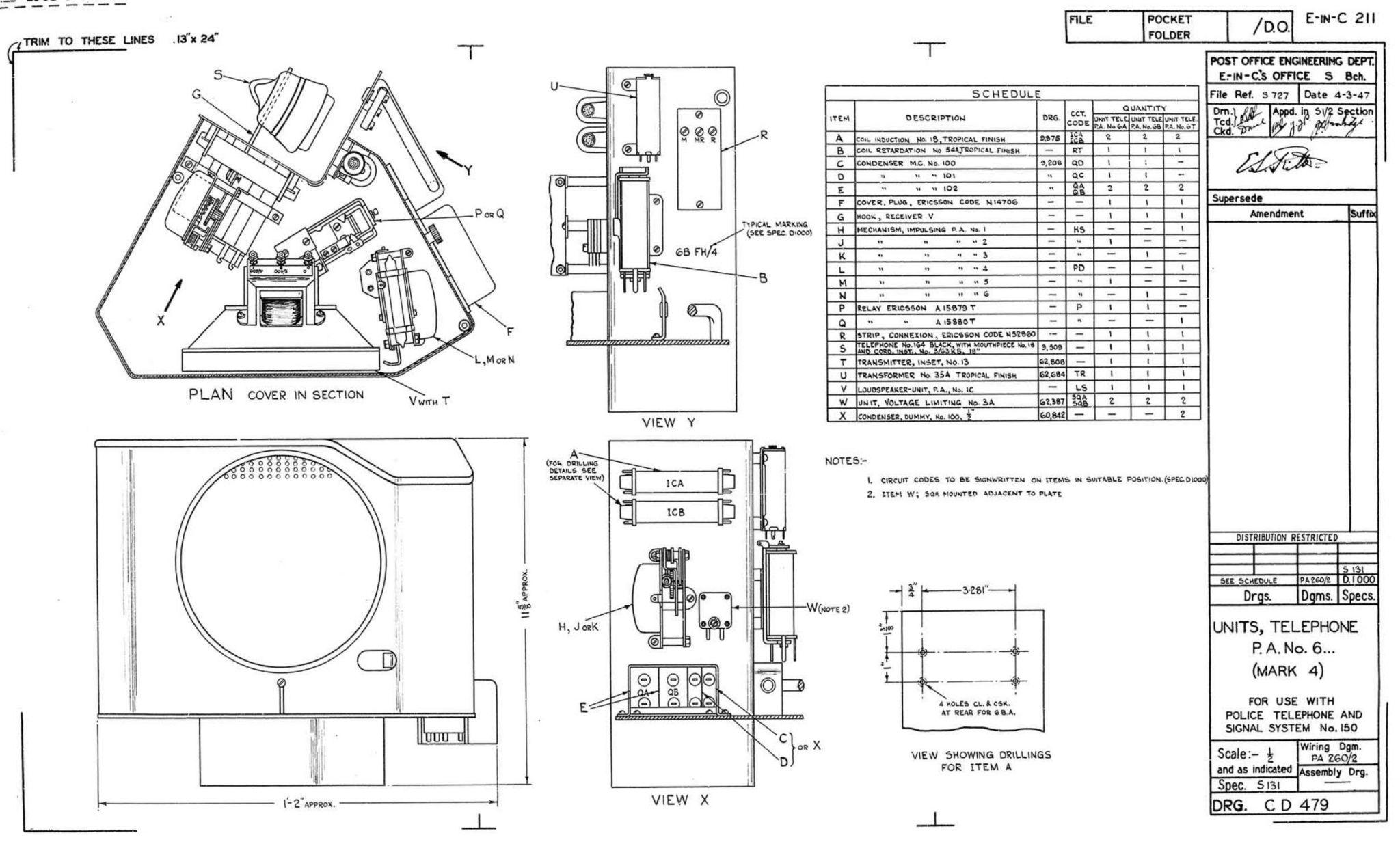 Pillar PA No 1 - CD 479 - Loud Speaker Unit.jpg