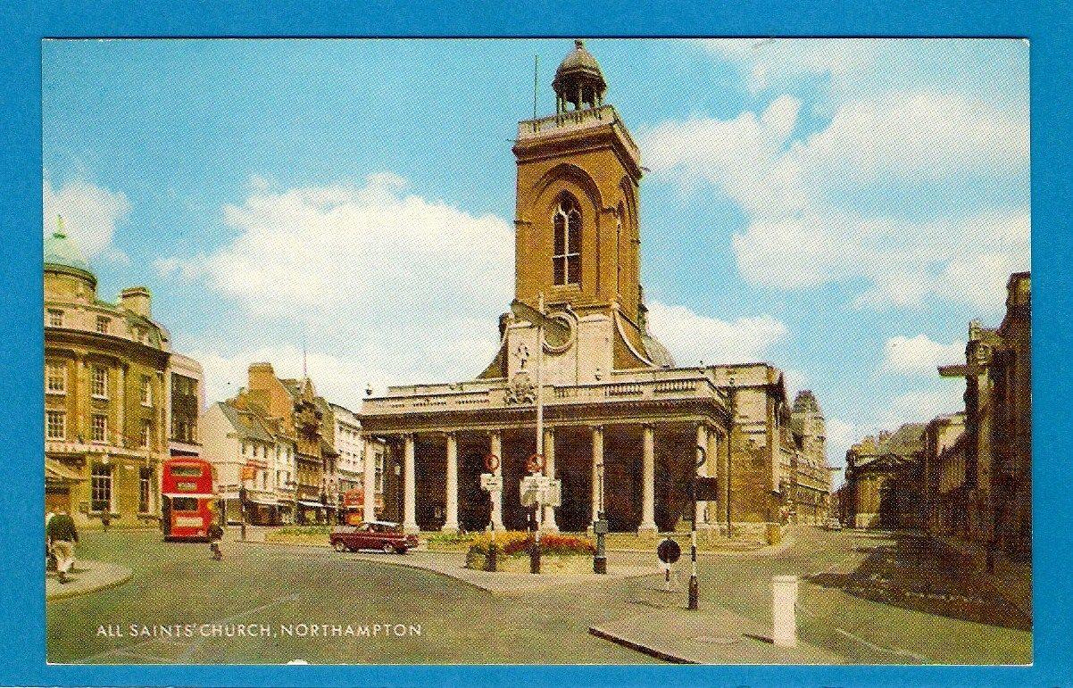 Northampton--All Saint's Church Post--c1960s.jpg