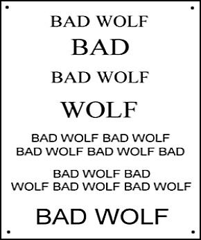 BadWolfSign.jpg