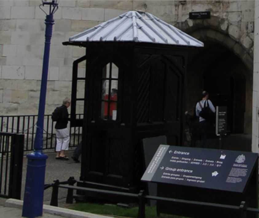 Tower of London Gate Guard Post - 3-Blowup.JPG