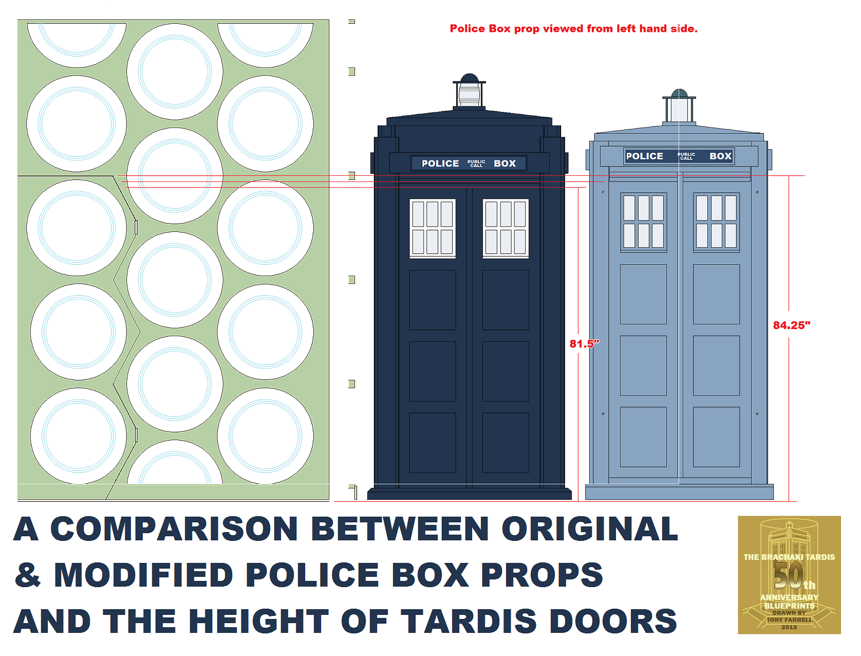 25 inch roundels compared to Brachaki refitted box in front of doors.png
