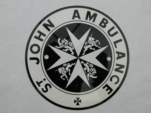 St John Ambulance 6-inch Plaque.JPG
