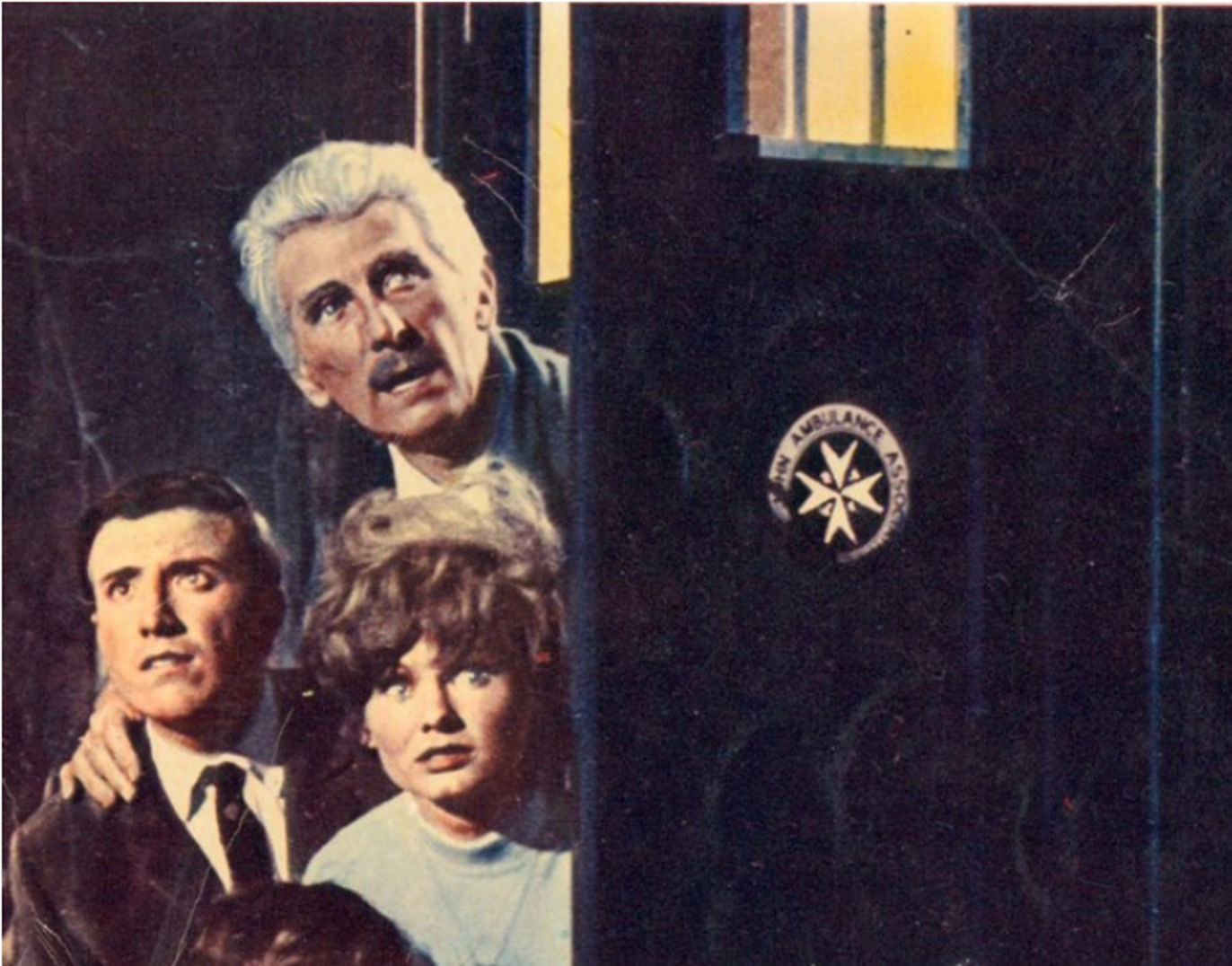 St John Ambulance Plaque from Dr Who and the Daleks Lobby Card.jpg