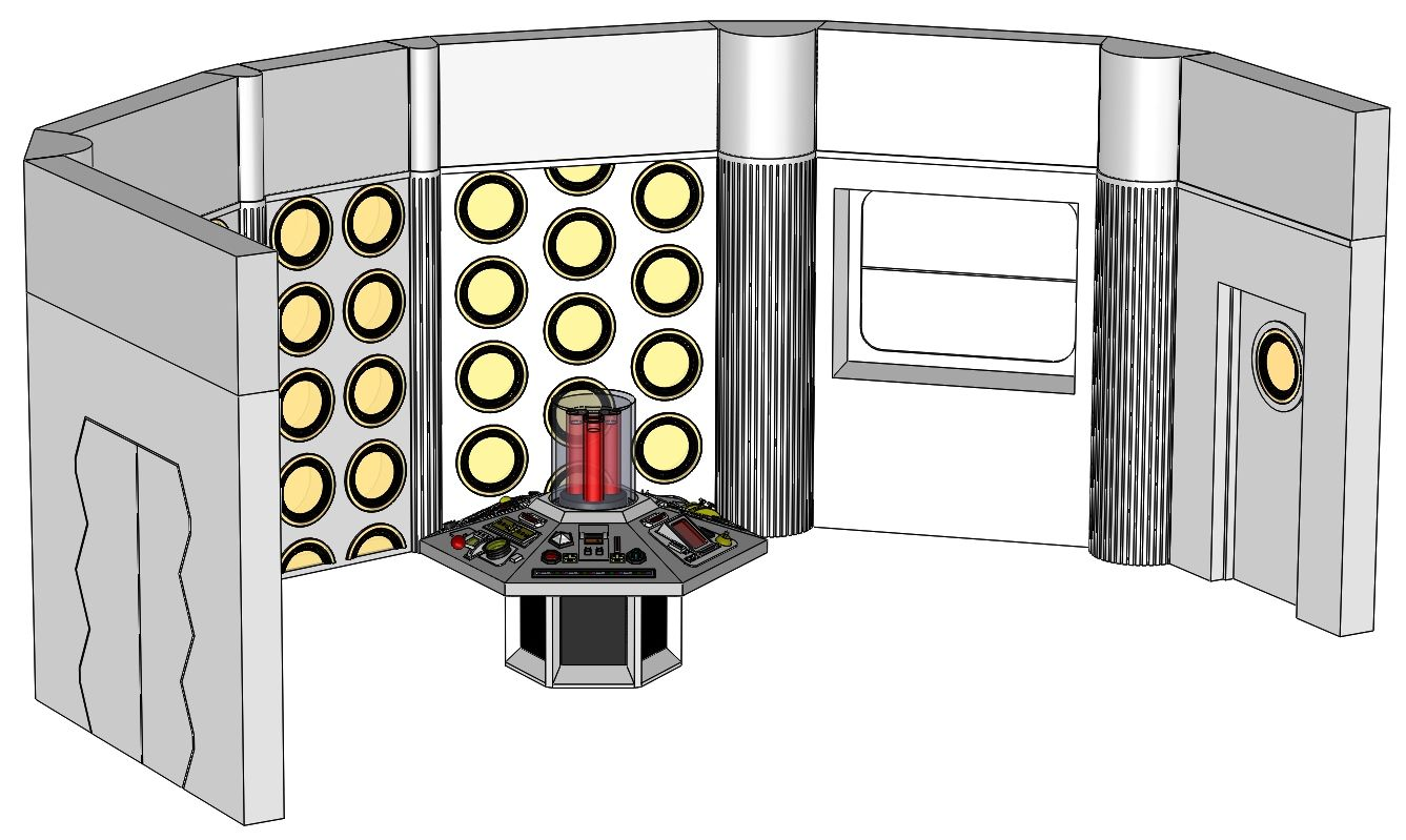 Season 18-20 TARDIS Console Room Assembly and Controls_002.JPG