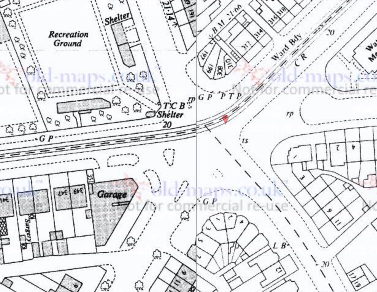 PTP - 308 Waterloo Road - OS Map 1963.jpg