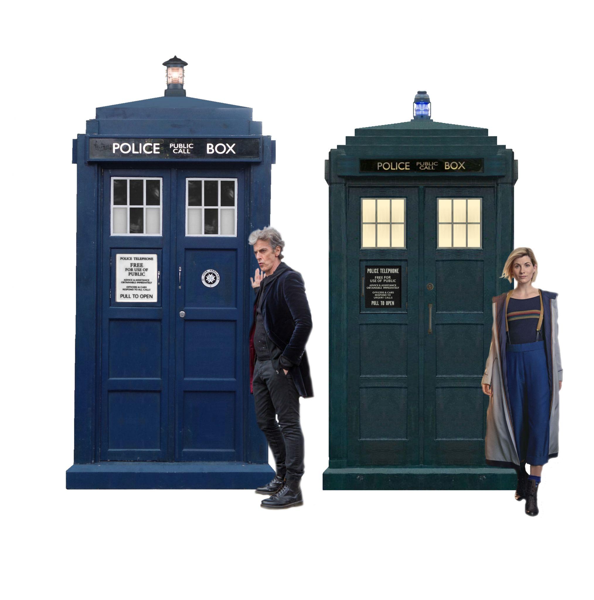capaldi TARDIS and jodie TARDIS.jpg