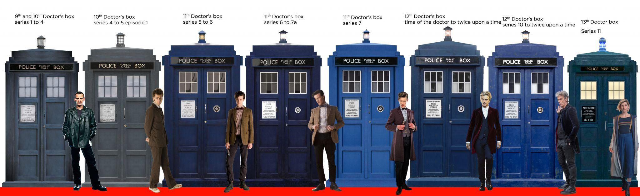 Modern TARDIS box line up .jpg