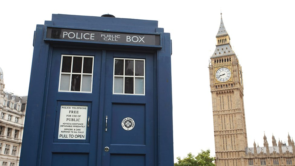Series 8 The TARDIS crash lands in Parliament Square p0258hsj.jpg