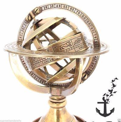 Nautical-Brass-Sphere-Astrolabe-Armillary-Globe-Collectible-Antique-_1.jpg